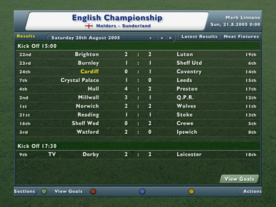 Videogioco Football Manager 2006 Xbox 360 5