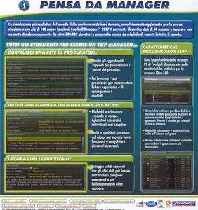 Videogioco Football Manager 2007 Xbox 360 6