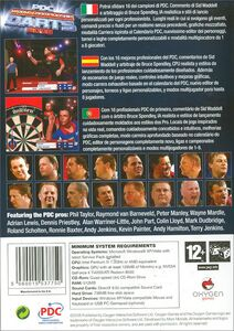 Videogioco PDC World Championship Darts 2008 Personal Computer 7