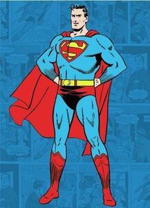 Magnete in Metallo Superman