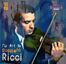 The Art of Ruggiero Ricci - CD Audio di Ruggiero Ricci
