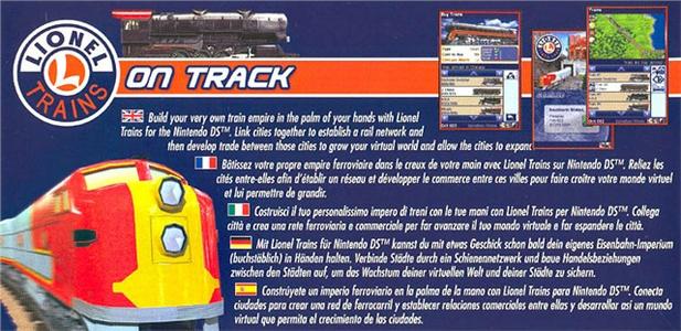 Videogioco Lionel Trains On track Nintendo DS 1