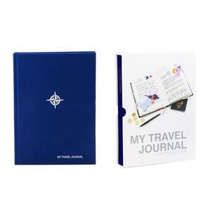 Diario di viaggio My Travel Journal Blu