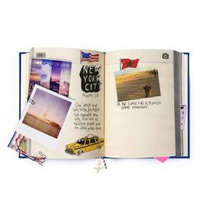 Diario di viaggio My Travel Journal Blu - 2