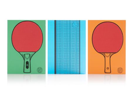 Cartoleria Notebook Ping Pong. Table Tennis Trading Group 1