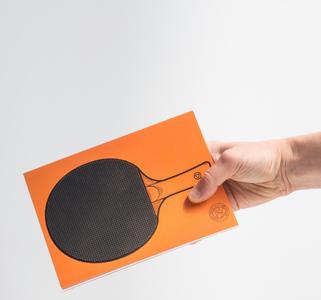 Cartoleria Notebook Ping Pong. Table Tennis Trading Group 3