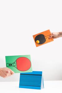 Cartoleria Notebook Ping Pong. Table Tennis Trading Group 4