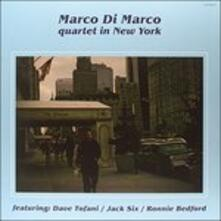 Quartet in New York - Vinile LP di Marco Di Marco