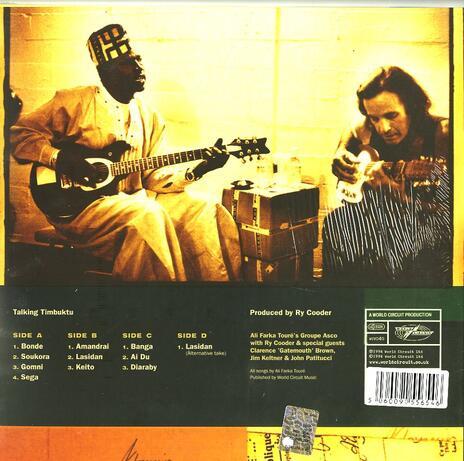 Talking Timbuktu - Vinile LP di Ali Farka Touré - 2