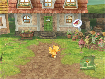 Final Fantasy Fables. Chocobo's Dungeon - 2