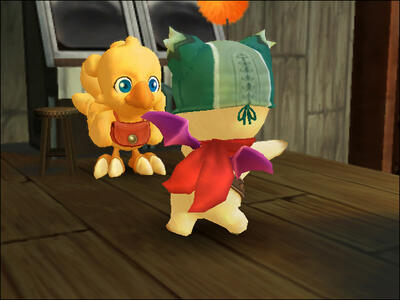 Final Fantasy Fables. Chocobo's Dungeon - 7