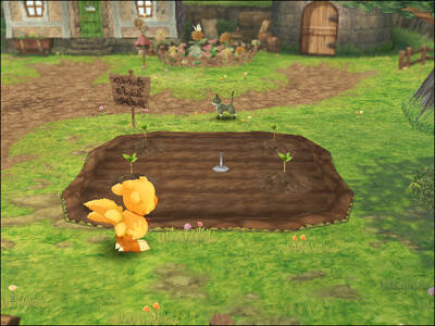 Final Fantasy Fables. Chocobo's Dungeon - 10