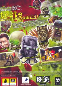 Videogioco Dead Head Fred Sony PSP 10