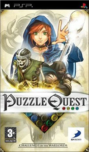 Videogioco Puzzle Quest: Challenge of the Warlords Sony PSP 0