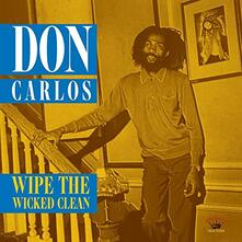 Wipe the Wicked Clean - Vinile LP di Don Carlos