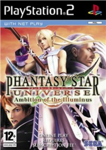 Videogioco Phantasy Star Universe: Ambition of the Illuminus PlayStation2 0
