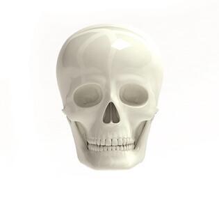 Tappini per ruote Skull Caps