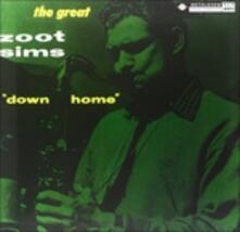 Down Home (180 gr.) - Vinile LP di Zoot Sims