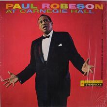At Carnegie Hall - Vinile LP di Paul Robeson