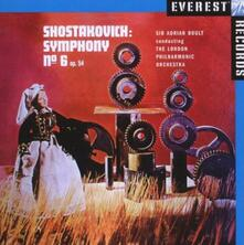 Sinfonia n.6 - CD Audio di Dmitri Shostakovich,Sir Adrian Boult