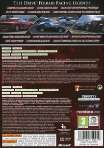 Videogioco Test Drive Ferrari Racing Legends Xbox 360 1