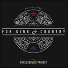 For King & Country - Vinile LP di WorldService Project
