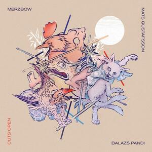 CD Cuts Open Merzbow Mats Gustafsson Balazs Pandi