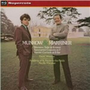 Munrow & Marriner - Vinile LP di Neville Marriner,Academy of St. Martin in the Fields,David Munrow