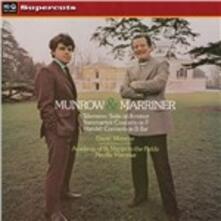 Munrow & Marriner - Vinile LP di Neville Marriner,Academy of St. Martin in the Fields,David Munrow