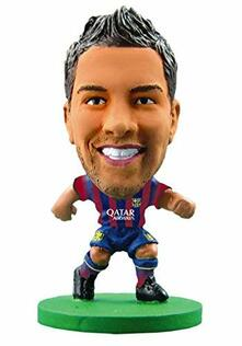 Soccerstarz. Barcelona Jordi Alba. Home Kit 2015 Version