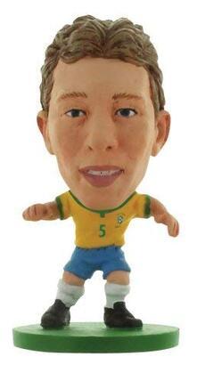 Soccerstarz. Brazil Lucas Leiva. Home Kit /Figures