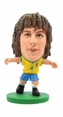 Soccerstarz. Brazil David Luiz. Home Kit /Figures
