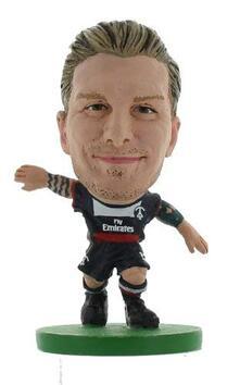 Soccerstarz. Paris St Germain David Beckham Home Kit 2014