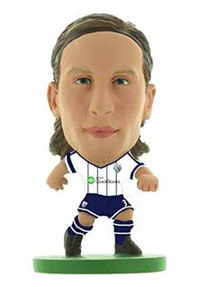 Soccerstarz. West Brom Jonas Olsson Home Kit  2015 Version