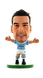 Soccerstarz. Man City Alvaro Negredo Home Kit 2014 Version - 2