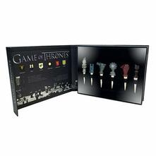 Game Of Thrones. House Sigil Wine Stoppers Set 6
