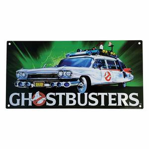 Ghostbusters Ecto 1 Metal Sign