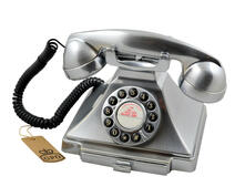 Telefono Vintage Gpo Carrington Chrome