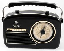 Radio Gpo Rydell Nostalgic Radio 4 Band Black/Cream