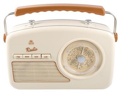 Radio Gpo Rydell Nostalgic Radio 4 Band Brown/Cream