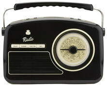 Radio Digitale Gpo Rydell Nostalgic Dab Radio Black/Cream