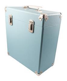 Valigia Porta Vinili Gpo 12Inch Vinyl Case Blue
