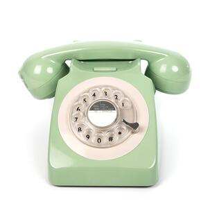 Telefono Vintage Gpo 746 Rotary Mint Green
