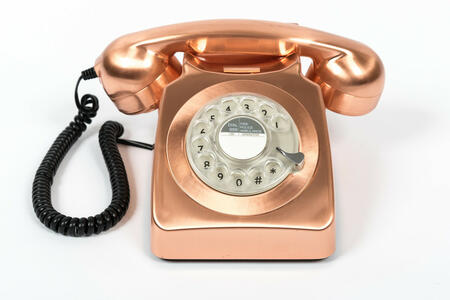 Telefono Vintage Gpo 746 Rotary Bronze