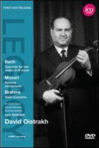 David Oistrakh. Bach, Mozart, Brahms - DVD
