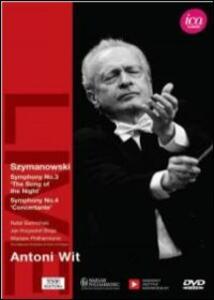 Antoni Wit. Szymanowski - DVD