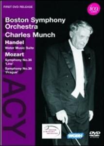 Charles Munch Conducts Mozart & Handel - DVD
