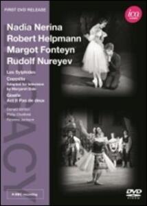 Nerina, Helpmann, Fonteyn, Nureyev. Les Sylphides, Coppélia, Giselle - DVD