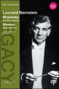 Leonard Bernstein conducts Stravinsky & Sibelius - DVD