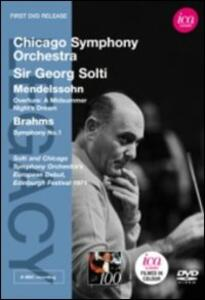 Georg Solti Conducts The Chicago Symphony Orchestra. Mendelssohn, Brahms - DVD